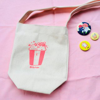 Drink bag / In fact, like a popcorn bucket (long)