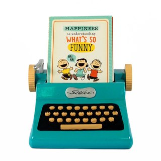 Snoopy Sculpture - Mood Typewriter [Hallmark-Peanuts Snoopy Decoration]