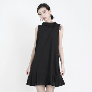 Picnic Green Hill Picnic Cotton Dress _8SF116_Black