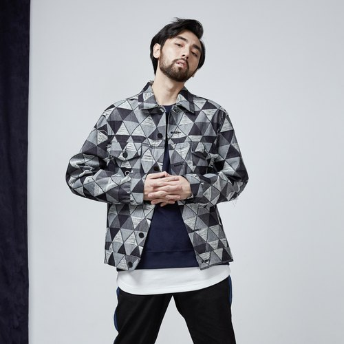 DYCTEAM - Jacquard Denim Jacket / 僅M號