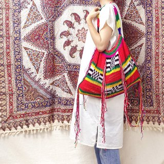 *BajuTua/Old Objects / Exotic Tribal Traditional Handwoven Bags - Colorful Rainbow