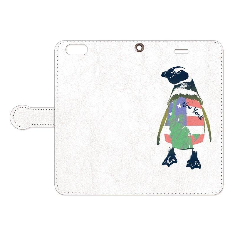 筆記本iPhone殼/紐約企鵝