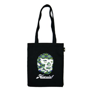 Luminous Color Tote Bag 蓄光變色手提帆布袋 BLACK M
