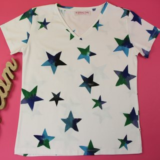 You Are the Sparkling Star Handpaint T-shirt