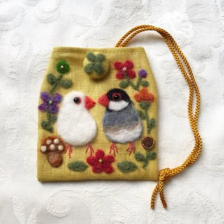 amulet bag of java sparrows