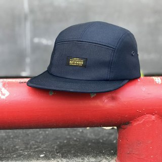 Matchwood Design Matchwood Waterproof Anti-fouling Five Split Caps Navy Blue