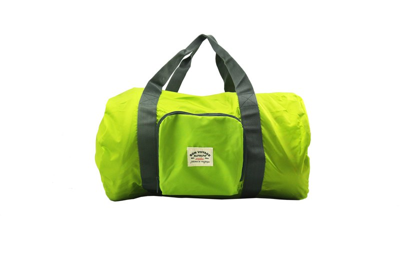 Light Green Jaime Le Voyager Foldable Duffle Bag