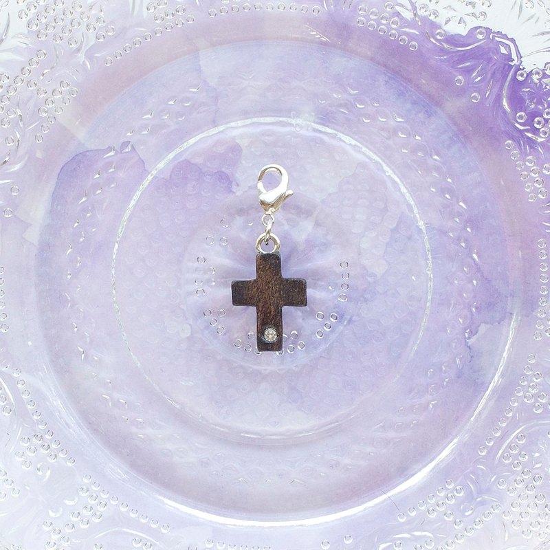 手工木製吊飾 十字架 吊飾  禮物訂製