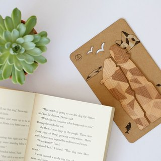 When I see you - wooden bookmarks (2 in) - [VUCA-Design] can be purchased for customization