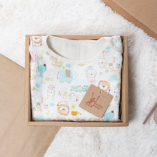 Non-staining and non-toxic six-gauge anti kick protection - Yangshuo animal happy animal baby child vest