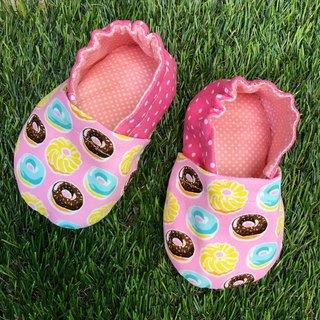 Cute donut toddler shoes