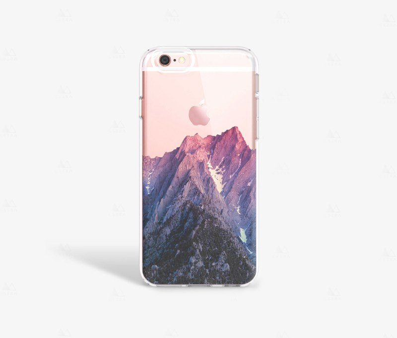 Mountain iPhone 7 Case Clear iPhone 8 Case Clear iPhone 7 Plus Clear