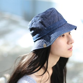 Sea day. Yashi hat / fisherman hat (night curtain / can be double-sided)