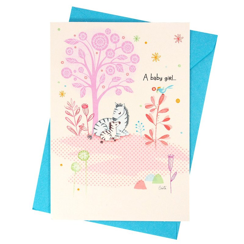 Baby Girl's Blessing (Hallmark - Card Baby Hershey)