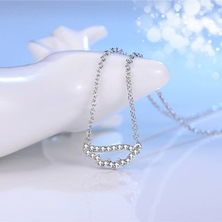 Wings of Dream 925 Silver Wing Clavicle Necklace