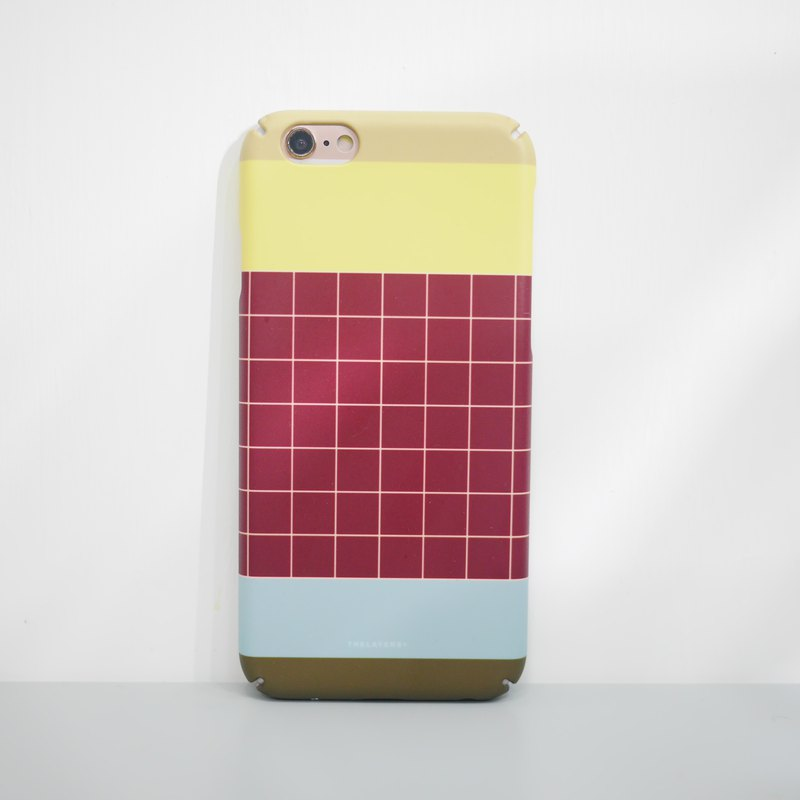 Graphic Print - WINE PUDDING iPhone case