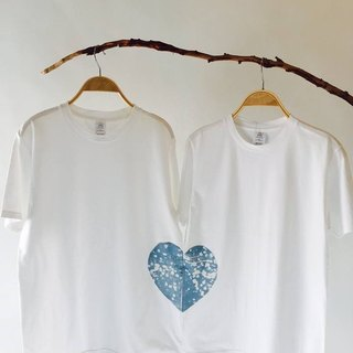 Free to dye isvara blue dye friendly earth cotton rare lover T-shirt