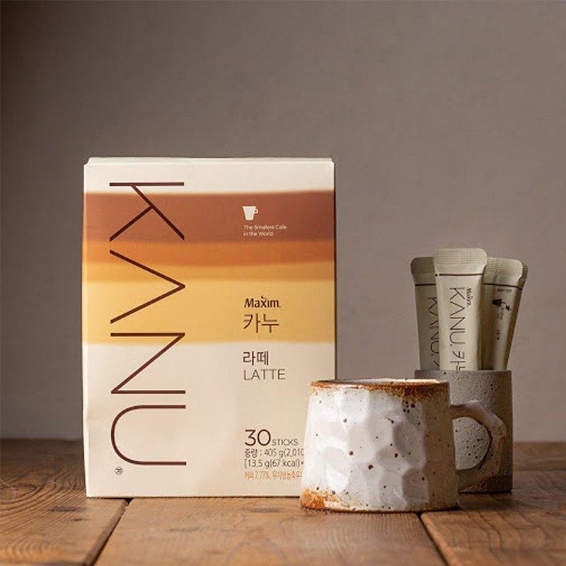 KANU 漸層奶香 拿鐵/雙拿鐵 咖啡 435g(13.5g×30入/盒)