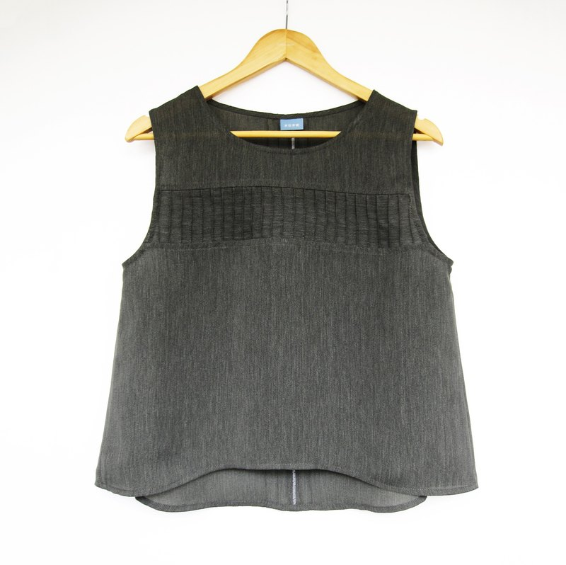 Spring and summer, quiet silent sleeveless jacket