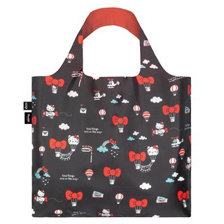 LOQI Shopping Bag - Sanrio License (Hello Kitty Hot Air Balloon KT13)
