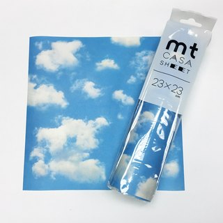 KAMOI mt CASA SHEET Decorative Wall Sticker (S) [Blue Sky and White Cloud (MT03WS2309)]