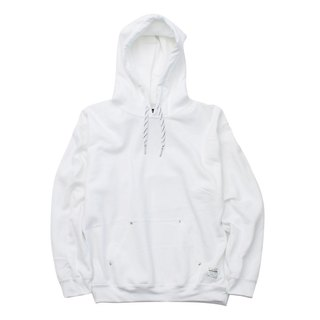 RIVET PULL PARKA # WHITE