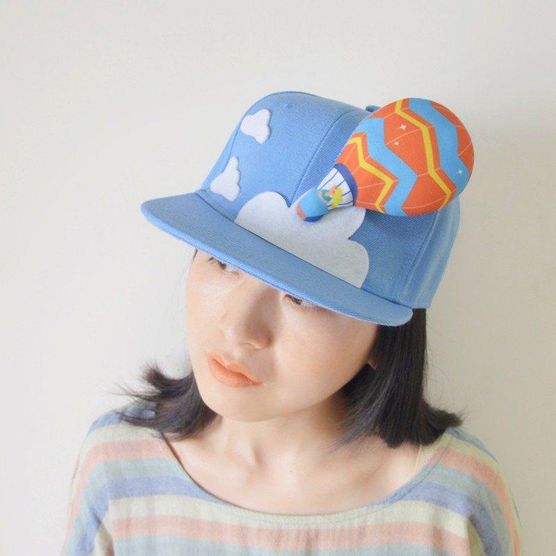 643099e719f Hot air balloon   Handmade hat unisex baseball cap   sun hat - Designer  zheng-guagua