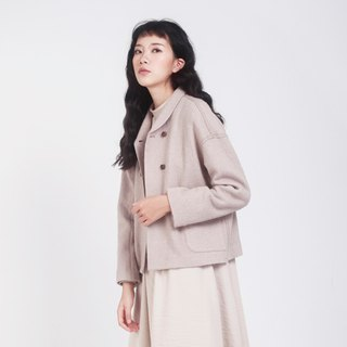 kitann ino original independent design Sen Department of art retro collar short coat cardigan