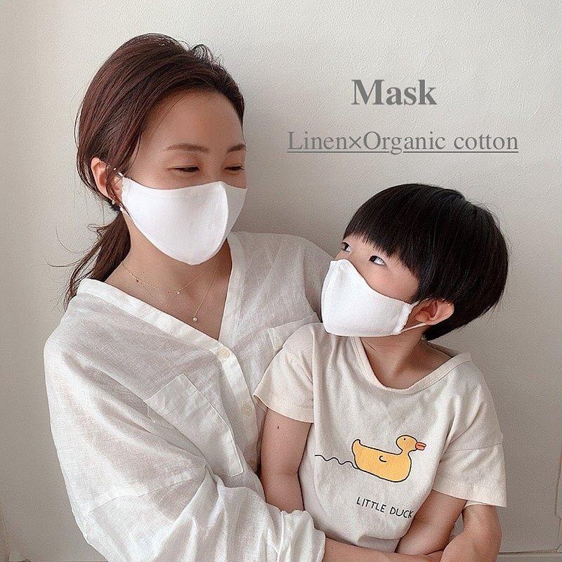 麻所製成的布口罩