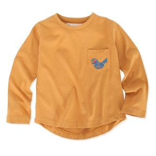Nordic organic cotton children's clothing bird long-sleeved T-shirt (limited edition)