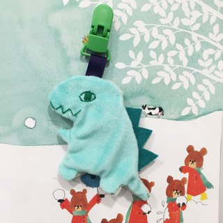 Small dinosaur hand for peace Fu bag / handbag