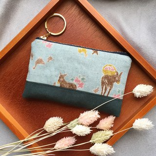 Country wind donkey - suede pocket coin purse