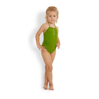 ANNABELLE Girls: Bandeau one piece swimwear for girls
