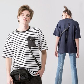 UNISEX DETACHABLE POCKET T SHIRT