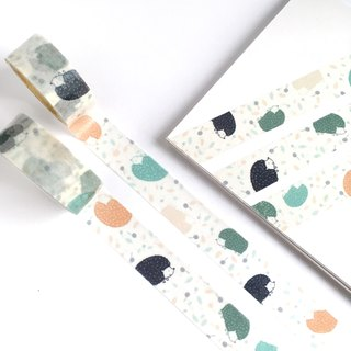 Colorful Hedgehog Washi tape Limited