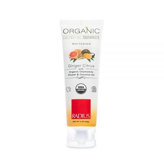 Organic Herbal Fragrance Toothpaste - Ginger Citrus