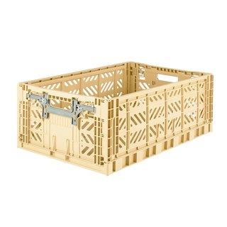 Turkey Aykasa Folding Storage Basket (L) - Banana Milkshake