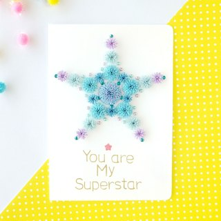 Hand made decorative cards-You are my superstar