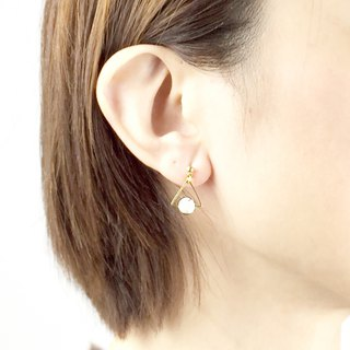 Small Department Earrings #4