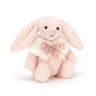 Jellycat Bashful Blush Snow Bunny