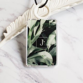 Personalize- Monstera Leaf - Cardholder
