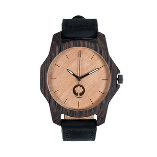 Plantwear – SIERRA SERIES – EBONY WOOD TIMBER WRIST WATCH