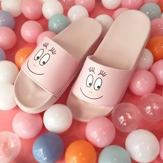 [BARBAPAPA bubble Mr.] Slippers indoor dragging and dragging outdoor drag · genuine license