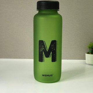 WEMUG Tritan Material Water Bottle (Green/M)