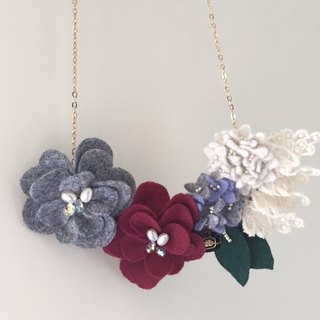[Bluesy Mod] --- Bouquet necklace. Bouquet Necklace (BBT7-C2)