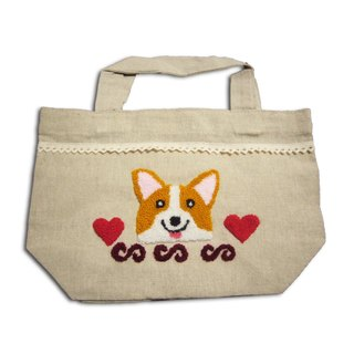 Corgi Lunch Tote Bag 哥基手挽袋
