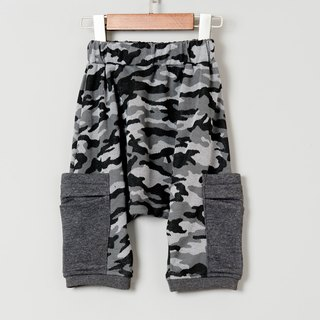 Squirrel pants - iron gray camouflage hand made non-toxic squirrel pants children's clothing children infant newborn