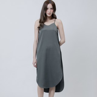 Arc Shape Hem Detail Dress
