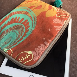 Hand-printed computer bag (Apple Ipad Air)
