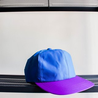 River Hill - Nichinan Coast sky blue indigo violet x Summer Love on six antique cut dome Benn baseball cap peaked cap / baseball cap